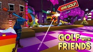 FORTNITE GOLF WITH FRIENDS MINIGAME v4! - Fortnite Creative (Nederlands)