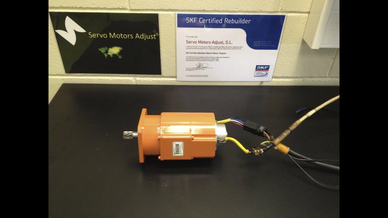 Robotics Servo Motor Repaired Reparaci N De Servo Motores