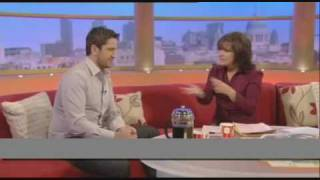 Gerard Butler admits recent relationships GMTV interview