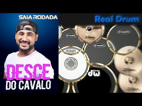 Real Drum 🎶Desce do cavalo - Saia Rodada🎶 Nilkson Drummer