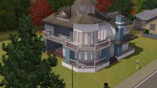 The Sims 3 House building - Melody 50
