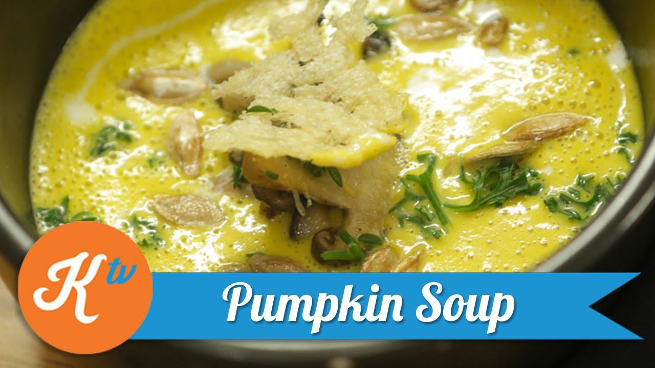 Resep Pumpkin Soup Revo Youtube