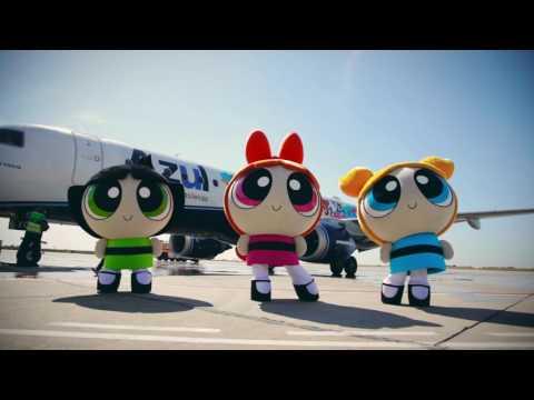Avião Meninas Super Poderosas | Cartoon Network