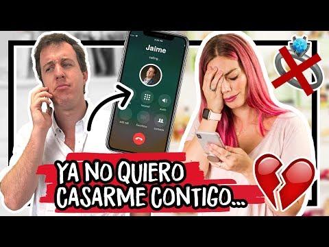 "BROMA A MI NOVIO ""Ya No Me Quiero Casar"" ¡TERMINA MAL! | Dolce Placard"
