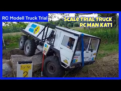 Scale Modell Truck Trial West Deutsche Meisterschaft im Parc