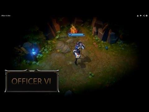 Officer Vi Skin