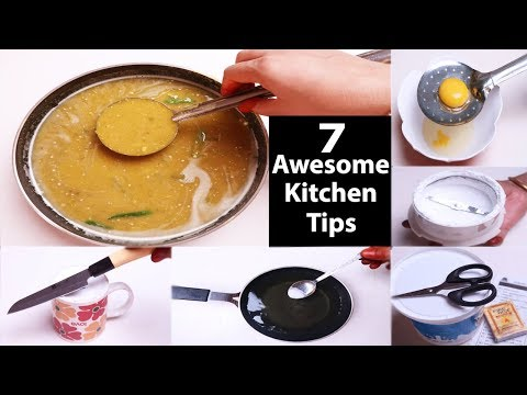 7 Awesome Kitchen Tips  রান্নার সেরা ৭ টিপস যা আপনাকে পাকা রাঁধুনি বানাবে  Cooking Tips and Tricks