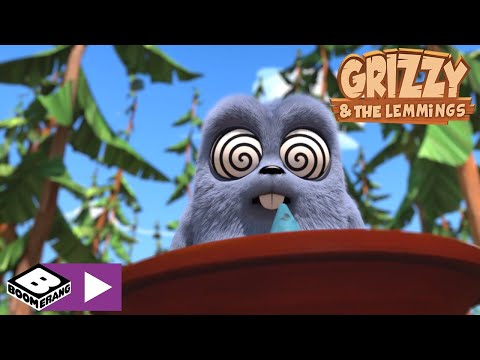 Grizzy and the Lemmings   Superpowers   Boomerang Africa