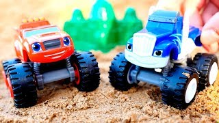 Видео с игрушками. Машинки Вспыш и Крушила играют в прятки.