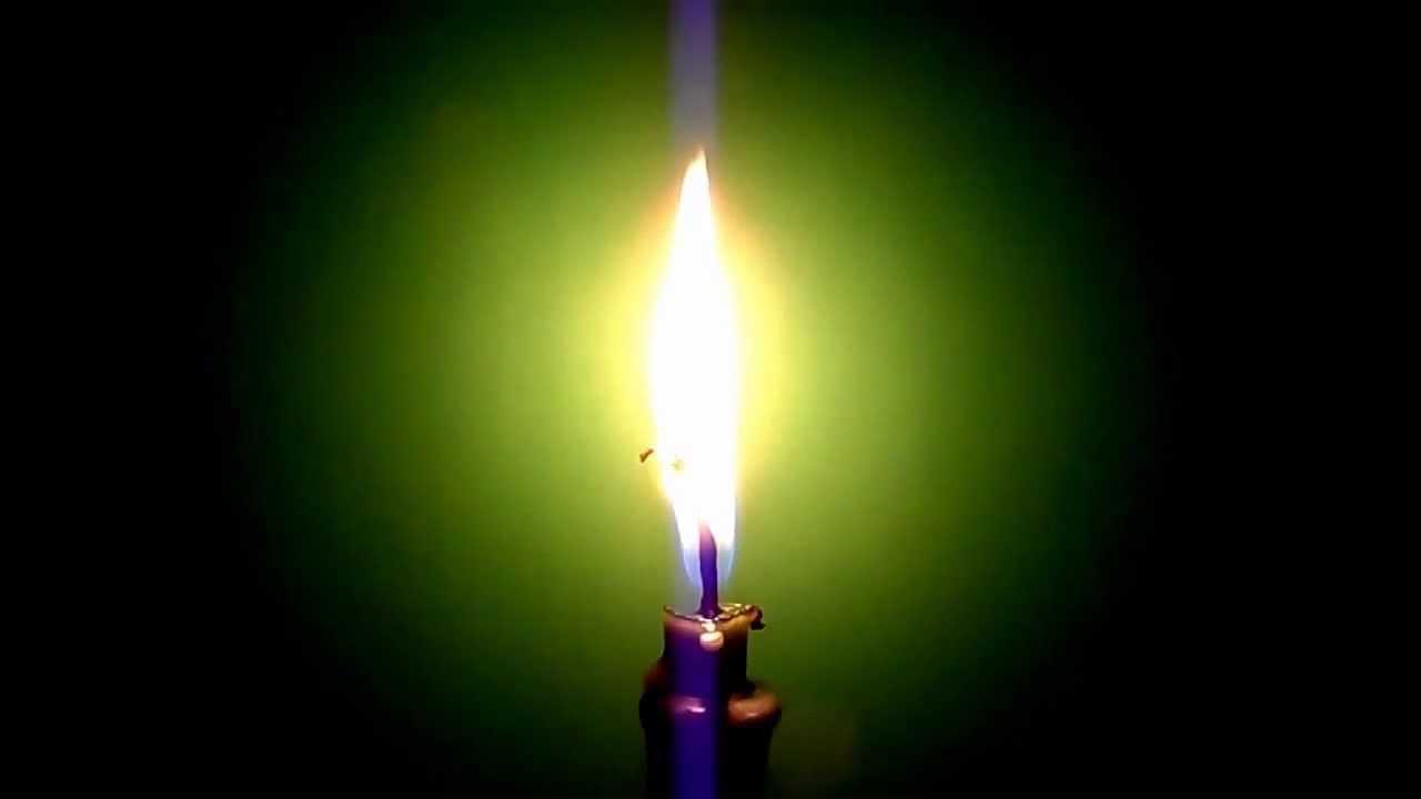 Заговоры на зеленую свечу на удачу