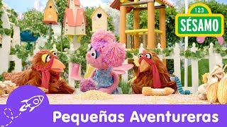 Sésamo: Pequeñas Aventureras - Dos gallinas, un camino