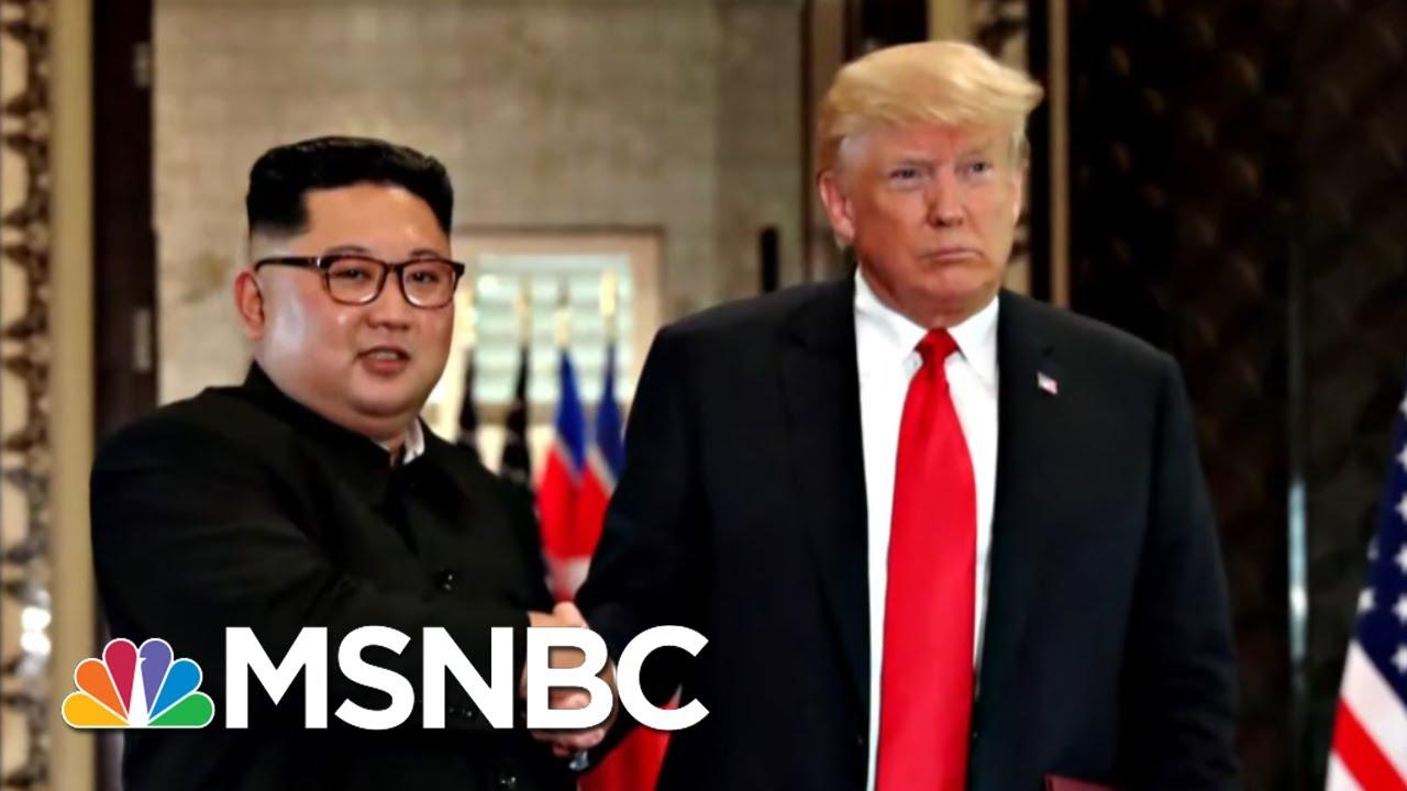 Donald Trump Praises North Korea's Murderous Dictator After Failed Summit | The 11th Hour | MSNBC