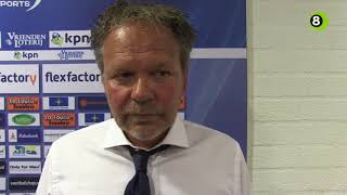 Henk de Jong na De Graafschap-Feyenoord: 'Korbach zou trots zijn'