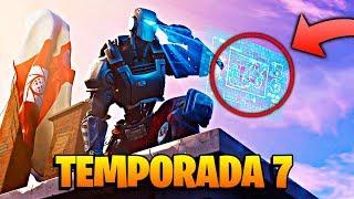 NUEVA TEMPORADA 7 **EL FINAL DEL MAPA** en FORTNITE: Battle Royale