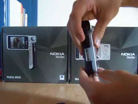 Hands on Nokia N93i