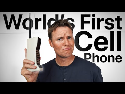 What's inside World's First Cell Phone?