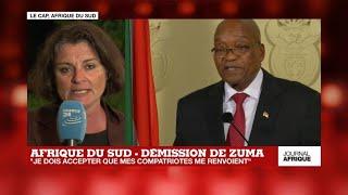Jacob Zuma démissionne:
