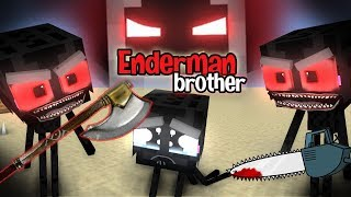 MONSTER SCHOOL : ENDERMAN'S BROTHERS MAKE TROUBLE IN MONSTER SCHOOL - Minecraft Animation