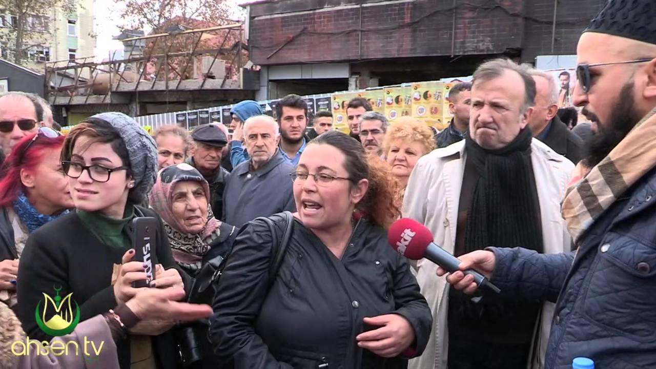 Ahsen Tv Muhabirini Çıldırtan HDP'li Genç