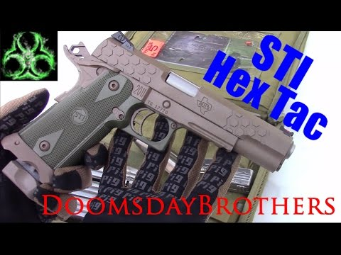 The Finest Production Handgun in the World - STI Hex Tactical 2011 Review