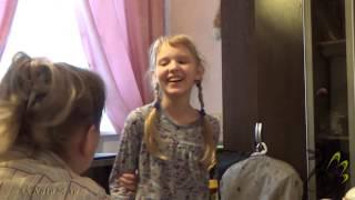 "Учимся петь. Кантилена ""Мама и дочка"" Поёт Ангелина Кахтур"