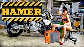Сварочные инверторные аппараты HAMER(Обзор сварочных аппаратов/инверторов Hamer. Аппараты ручной дуговой сварки представлены моделями MINI-160, MINI-200,..., 2016-05-24T11:50:51.000Z)