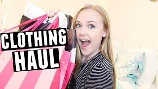 Back To School Try-On Clothing Haul | American Eagle, Victoria Secret, BooHoo, + more!