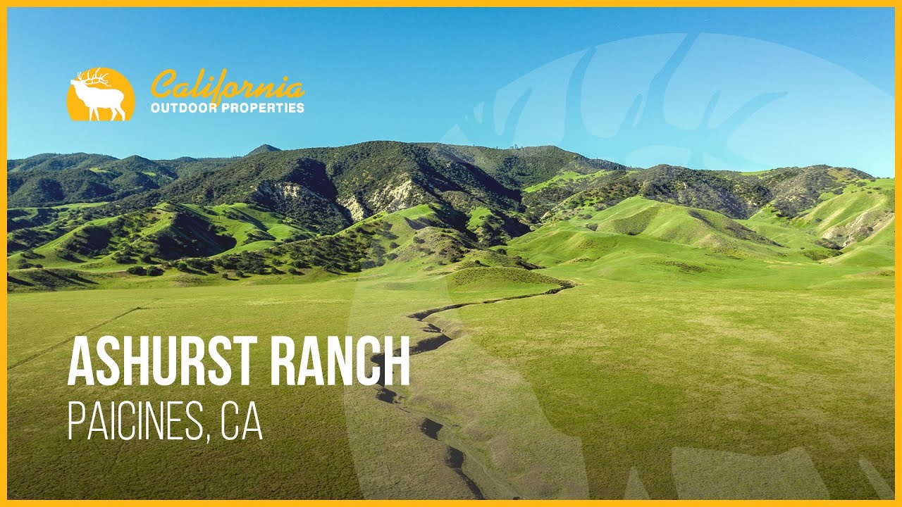 58,000-Acre Ashurst Ranch in Central Valley on the Market