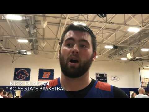 Boise State basketball holds open scrimmage