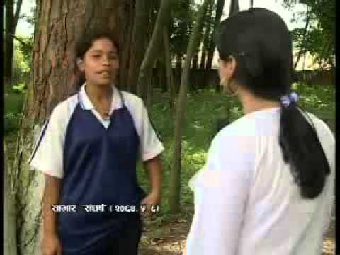Nepalese Blind Girls struggle to play Cricket