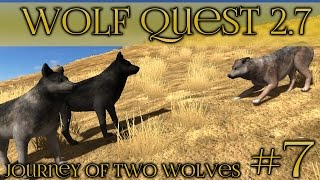 Dominance Among the Wolf Packs 🐺 Wolf Quest 2.7 - Brothers Journey || Episode #7