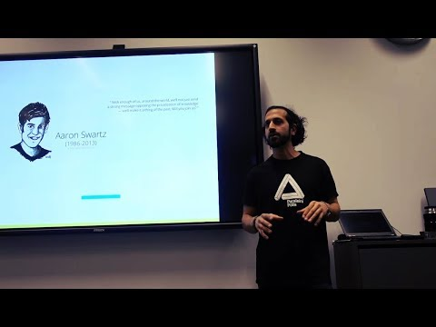 Amin Rafiee: Why Blockchains & Decentralisation Matter | Rotterdam University of Applied Sciences