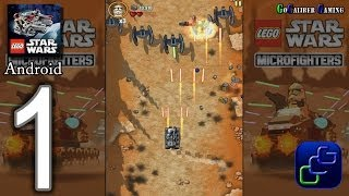 LEGO Star Wars Microfighters Android Walkthrough - Gameplay Part 1 - Use the Force, Clone Wars