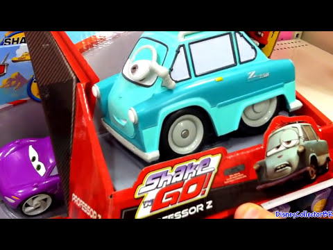 Disney Shake And Go Cars Toon From Fisher-Price Mattel Mater's Tall Tales Talking Toys