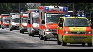 Hamburg Großeinsatz für Rettungsdienst und Polizei, Saufen bis der Arzt kommt