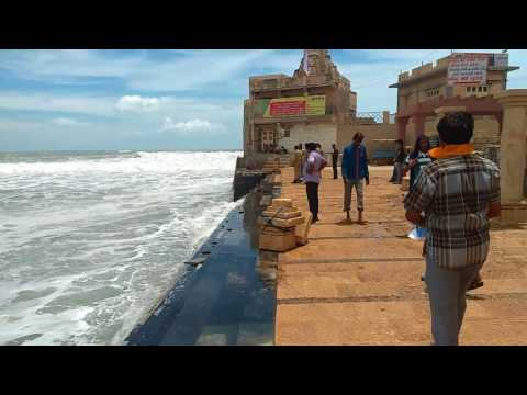 Dwarka Beach & gomti ghat in Gujarat