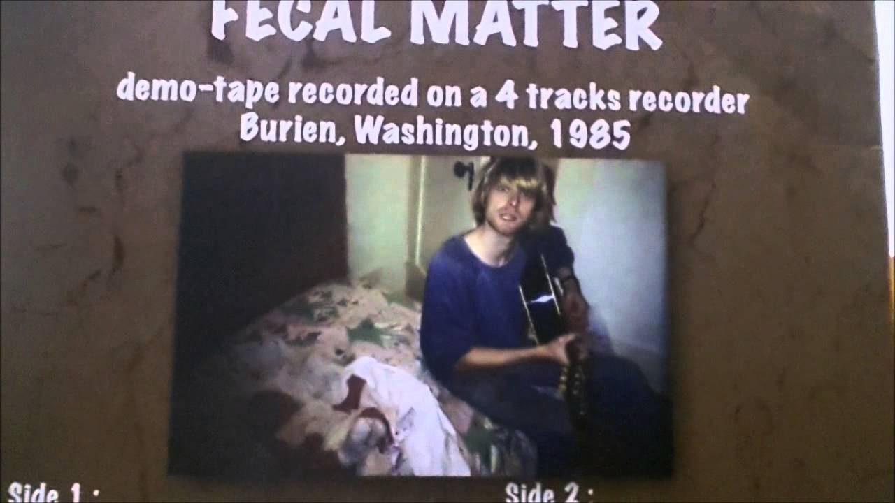 Unboxing Fecal Matter Before Nirvana The 1985 Kurt