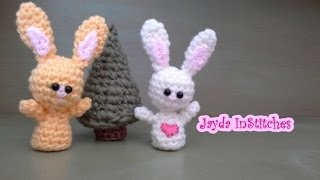 Crochet Along Amigurumi Bunny - Pattern Tutorial