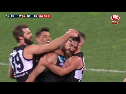 Round 23 AFL - Port Adelaide v Gold Coast
