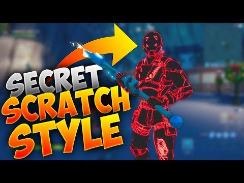 HOW TO GET THE SECRET SCRATCH SKIN AND BACKBLING STYLE!