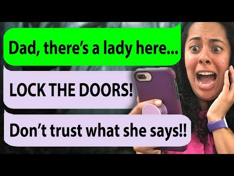 My STALKER  thinks I'm her daughter! (Father Figure | Cliffhanger Texting Stories)
