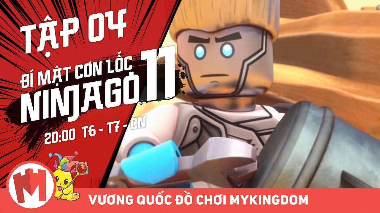 BÍ MẬT CƠN LỐC NINJAGO – Phần 11 | Tập 04: Chiến Đấu Với Bọ Cánh Cứng – Phim Ninjago Tiếng Việt