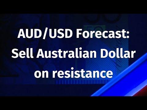 AUD/USD Forecast: Sell Australian Dollar on resistance