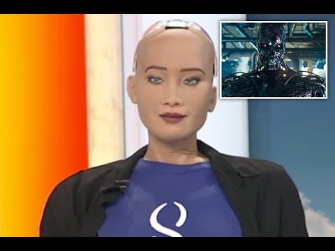 World's Most Advanced Robot Sends Chilling Warning To Humans On Live TV