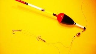 Снасть для ловли щуки на живца.Рыбалка.Fishing