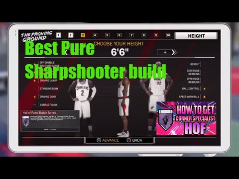 Best Pure Sharpshooter Build in NBA 2k18
