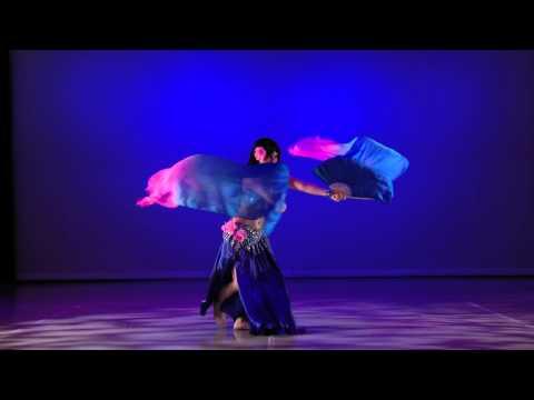 Bellydance Fan Veils Master, Tanna Valentine