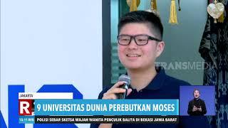 Moses Diperebutkan 9 Universitas Ternama