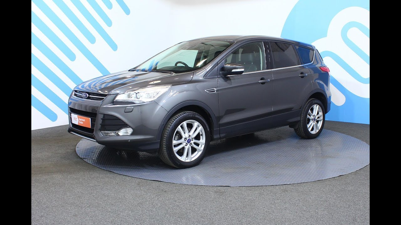 ford kuga 1 5 ecoboost titanium x 5dr start stop youtube. Black Bedroom Furniture Sets. Home Design Ideas