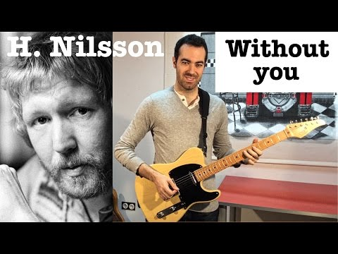 Without you - Harry Nilsson Guitar cover